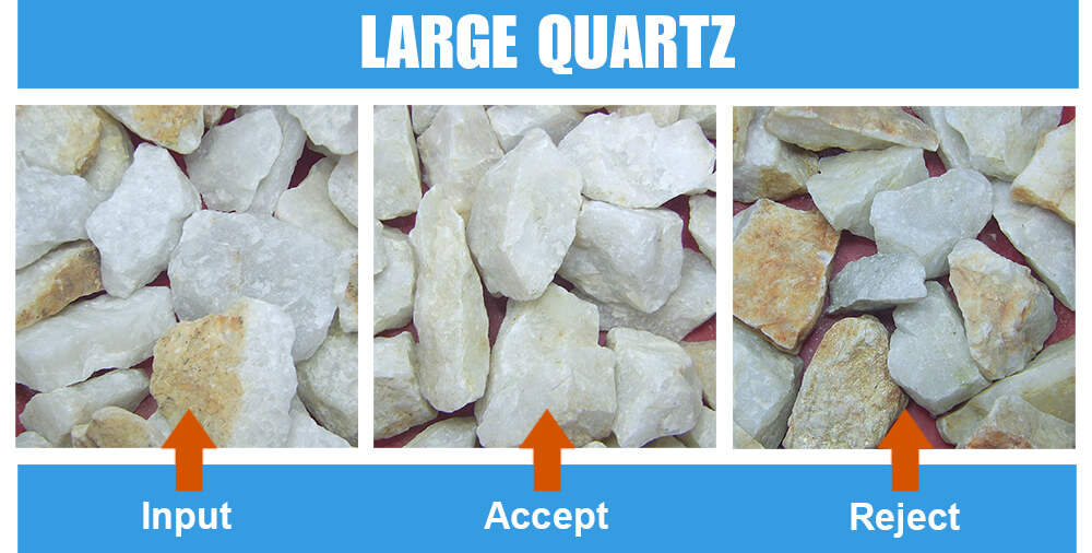 Sorted Sample Large Quartz