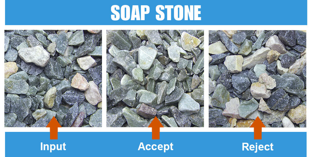 Sorted Sample Soap Stone