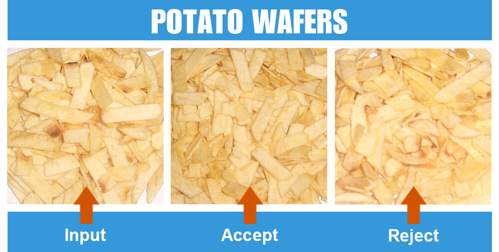 Sorted Sample Potato Wafers