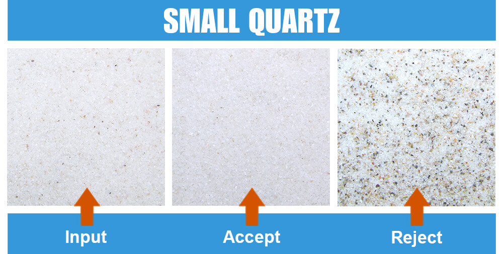 Sorted Sample Small Quartz